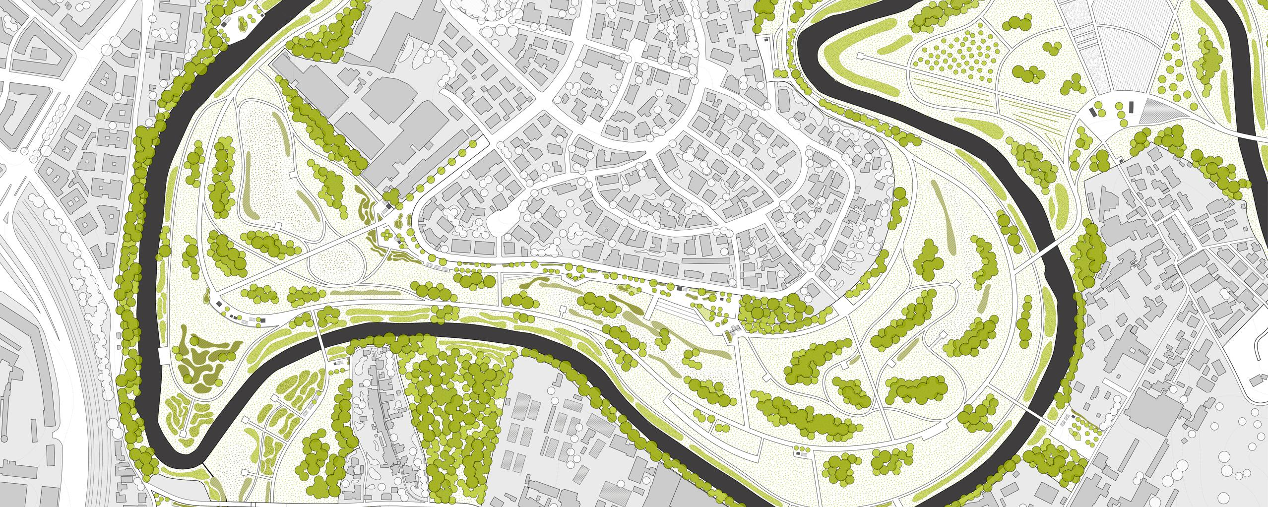 CLIMATE CHANGE & URBAN RESILIENCE / A new urban park along