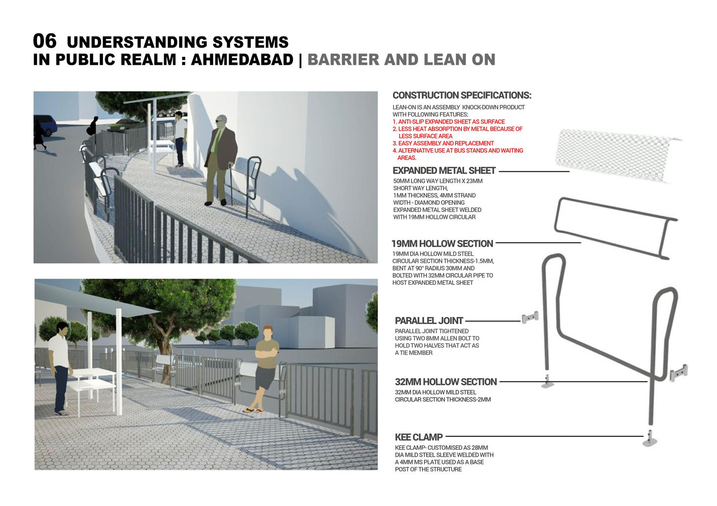 Lean On Barrier System