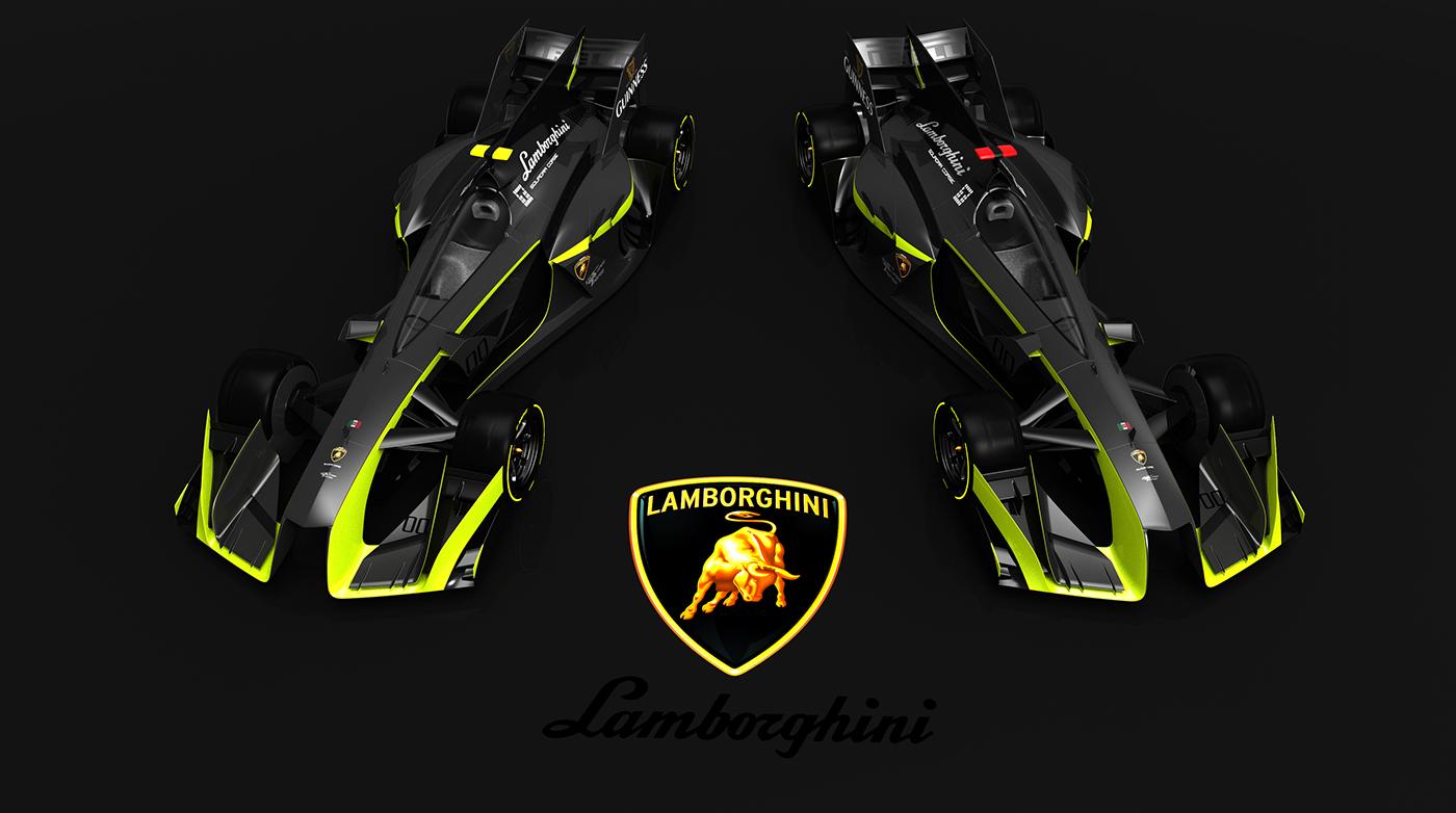 Lamborghini F1 Concept